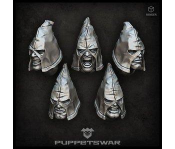 Puppetswar Tormentors heads (S210)