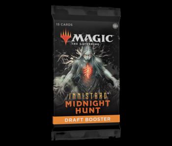 MTG Innistrad Midnight Hunt Draft Booster Pack