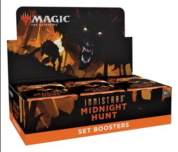 MTG  Innistrad Midnight Hunt  Set Booster Box