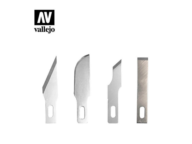 Vallejo 5 Assorted Blades for Knife No1 (T06010)