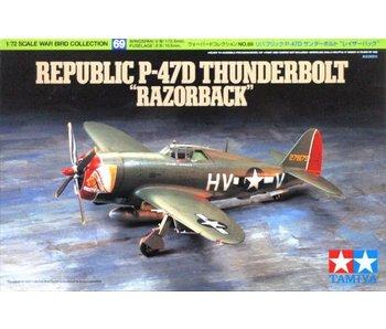 Tamiya 1/72 P47-D Thunderbolt Razorback