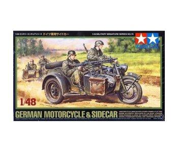Tamiya 1/48 German Bike & Sidecar