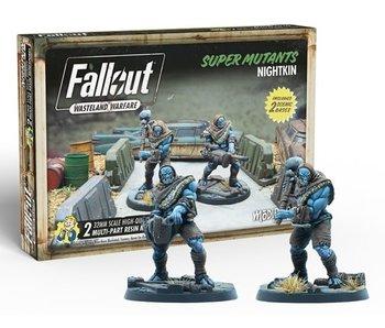 Fallout Wasteland Warfare - Super Mutants Nightkin