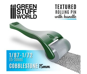 GSW Rolling pin with Handle - Cobblestone 15mm