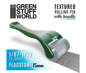 GSW Rolling pin with Handle - Flagstone 15mm