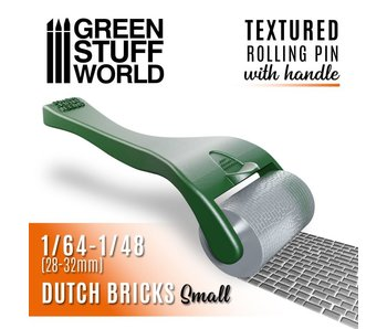 GSW Rolling pin with Handle - Dutch Bricks Small