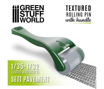GSW Rolling pin with Handle - Sett Pavement