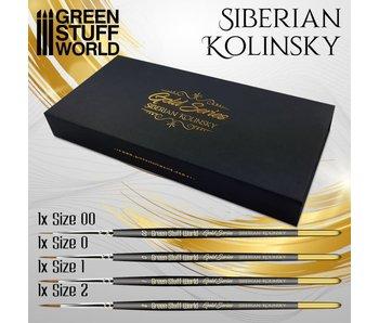 GSW Premium Brush Set - GOLD SERIES