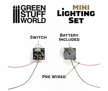 GSW Mini lighting Set With switch and CR927 Battery