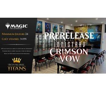 Prerelease - Innistrad Crimson Vow - 13 novembre 2021