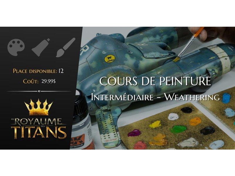 Cours de peinture de figurines: Wheatering - 07 novembre 2021