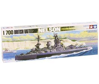 Tamiya Hms Nelson Battleship (31602) (1/700)
