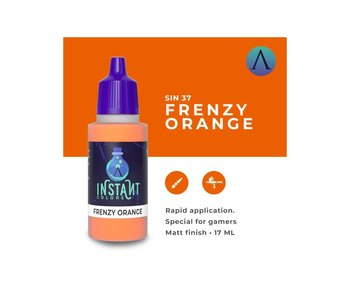 Scale Instant Color Frenzy Orange (Sin-37) (17 ml)