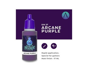 Scale Instant Color Arcane Purple (Sin-27) (17 ml)