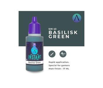 Scale Instant Color Basilisk Green (Sin-43) (17 ml)