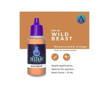 Scale Instant Color Wild Beast (Sin-40) (17 ml)