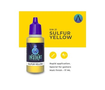 Scale Instant Color Sulfur Yellow (Sin-21) (17 ml)