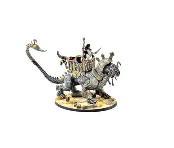 TOMB KINGS Necrosphinx with Neferata #1 Sigmar WELL PAINTED