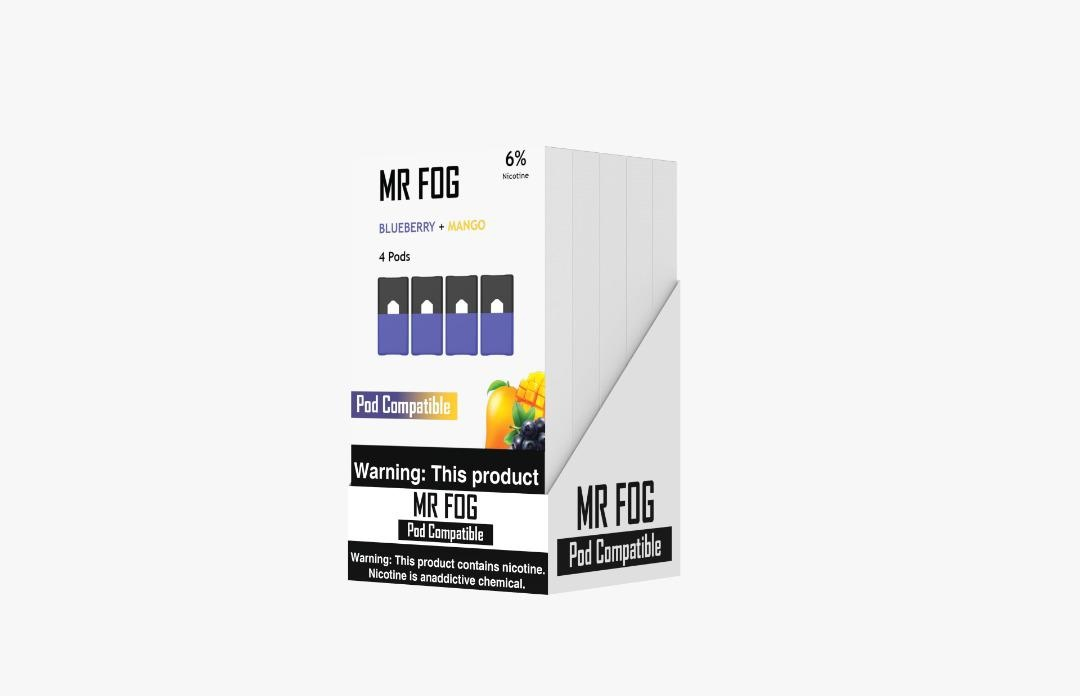 MR FOG PODS PACK OF 4 BLUEBERRY  MANGO