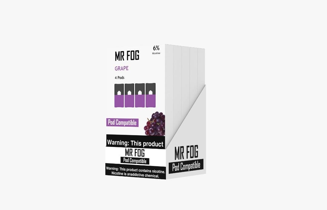 MR FOG PODS PACK OF 4 GRAPE