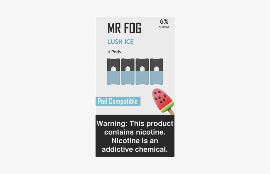 MR FOG PODS PACK OF 4 LUSH ICE