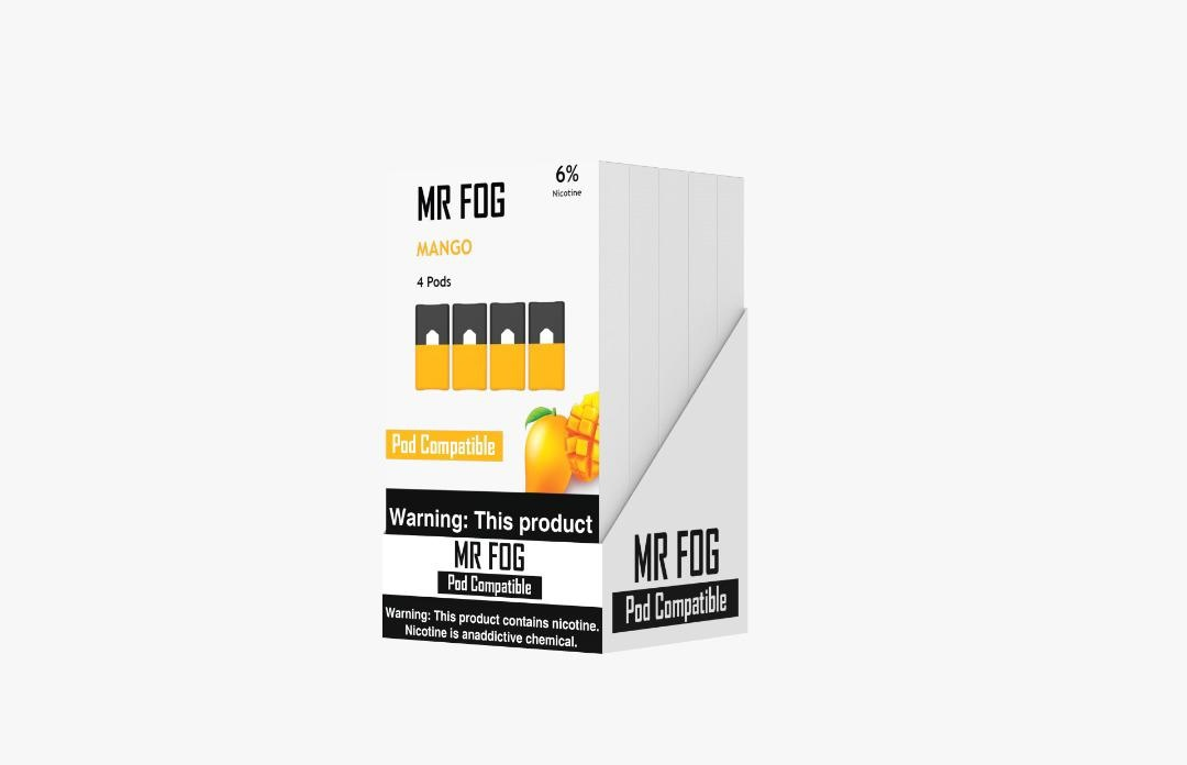MR FOG PODS PACK OF 4 MANGO