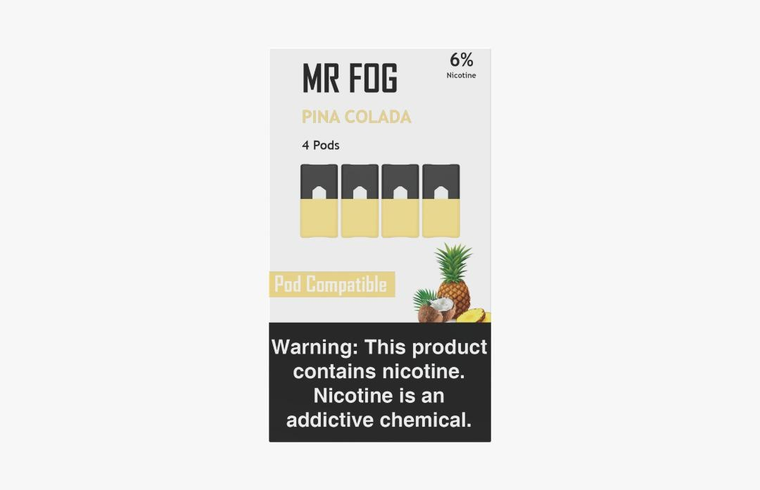 MR FOG PODS PACK OF 4 PINA COLADA