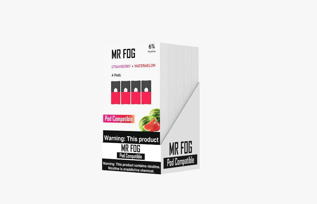 MR FOG PODS PACK OF 4 STRAWBERRY + WATERMELON