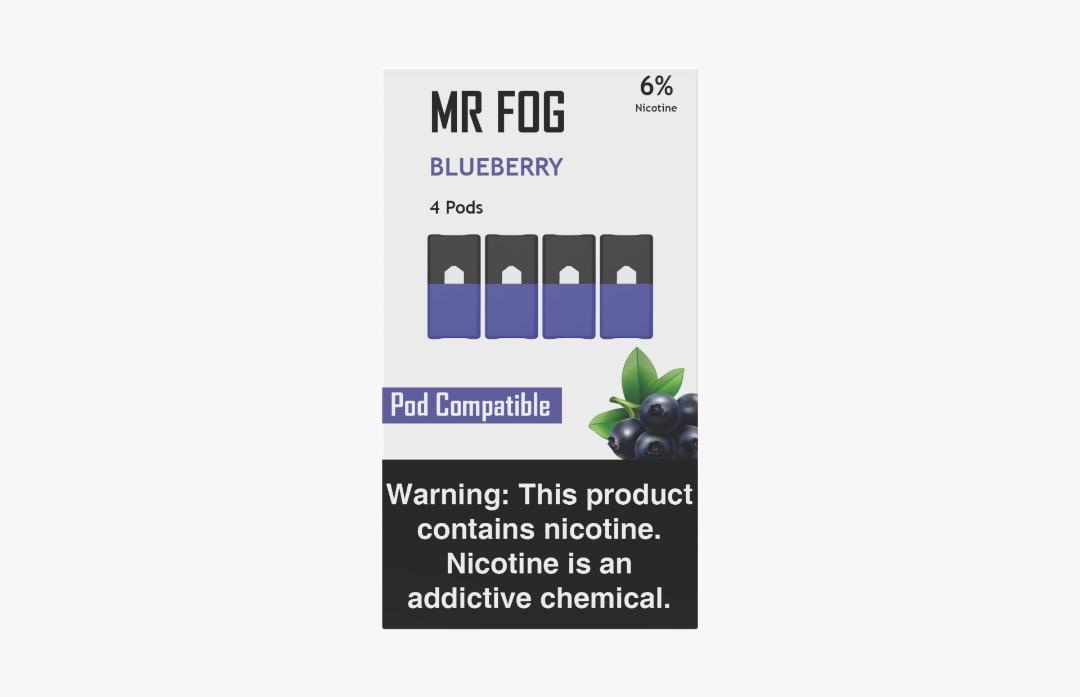 MR FOG PODS PACK OF 4 BLUEBERRY