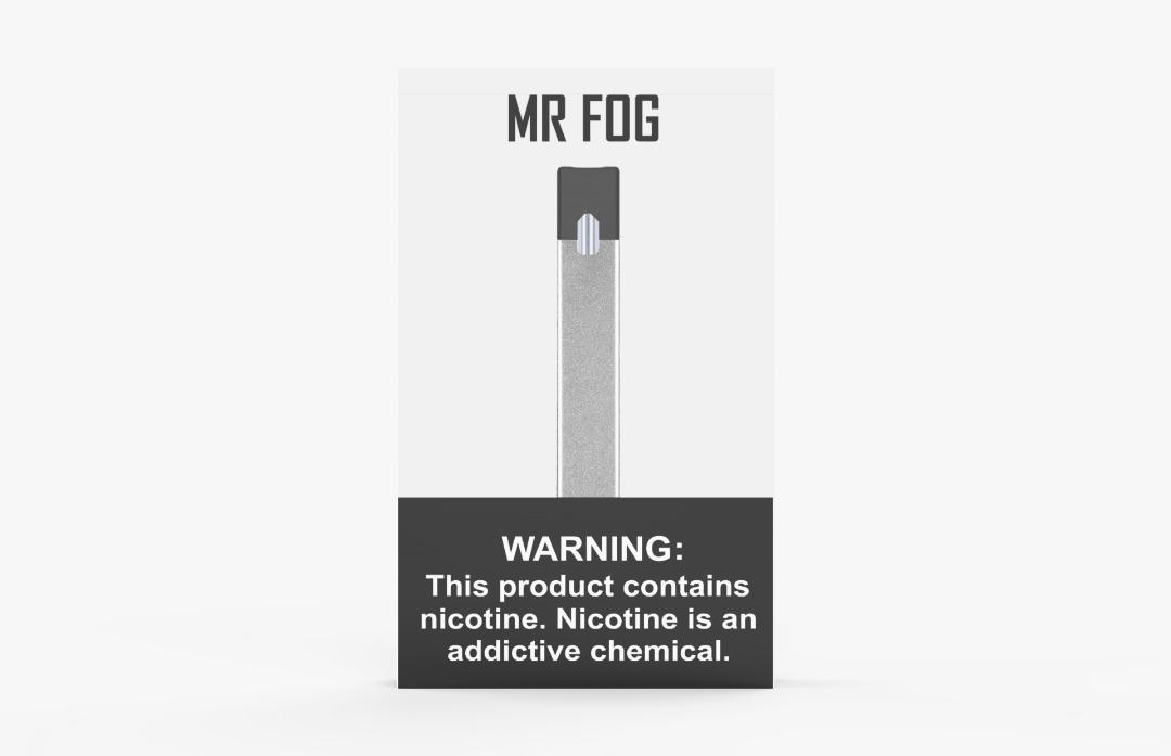 SILVER MR FOG DEVICE