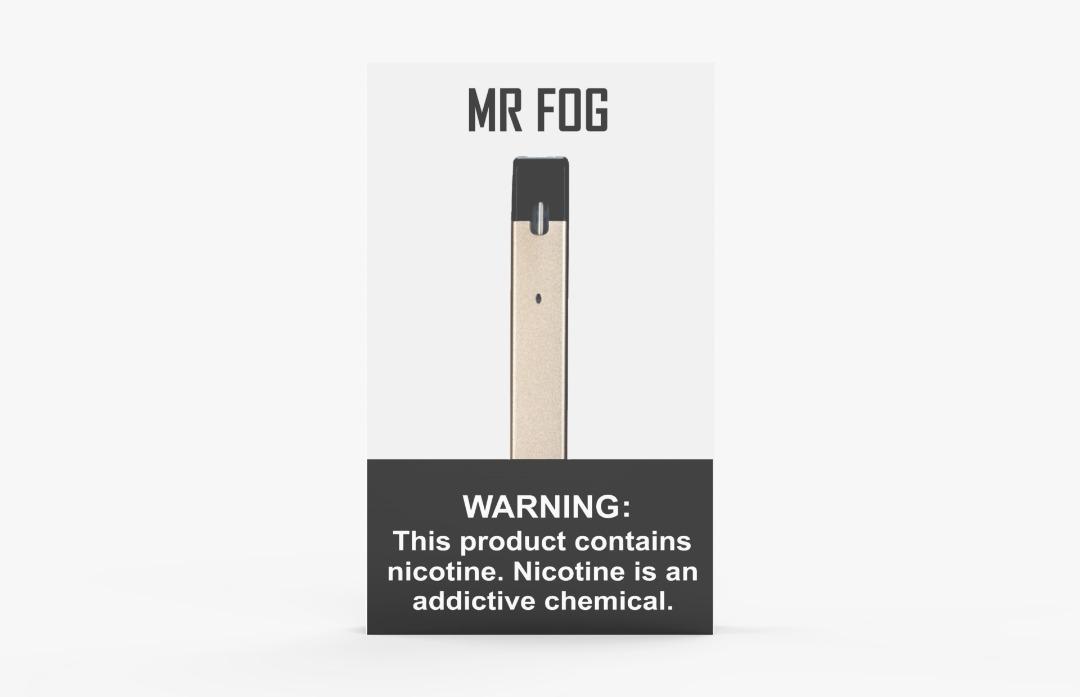 GOLD MR FOG DEVICE