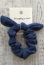 Golden Stella Solid Bow Scrunchie Set