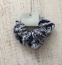 Golden Stella Paisley Hair Scrunchie