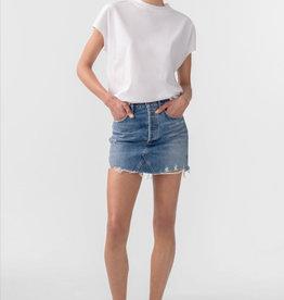 AGOLDE AGOLDE Quinn Hi Rise Mini Skirt