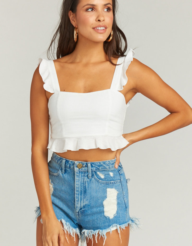 Show Me Your Mumu Delia Crop Top