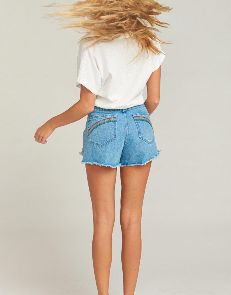 Show Me Your Mumu Arizona High Waisted Shorts