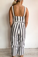 Australian Fashion Labels Sequence Stripe Jumpsuit