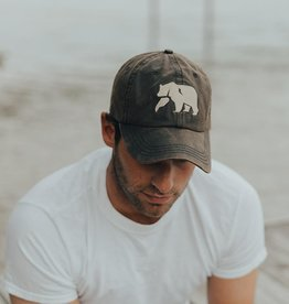 The Normal Brand One Size Waxed Canvas Cap