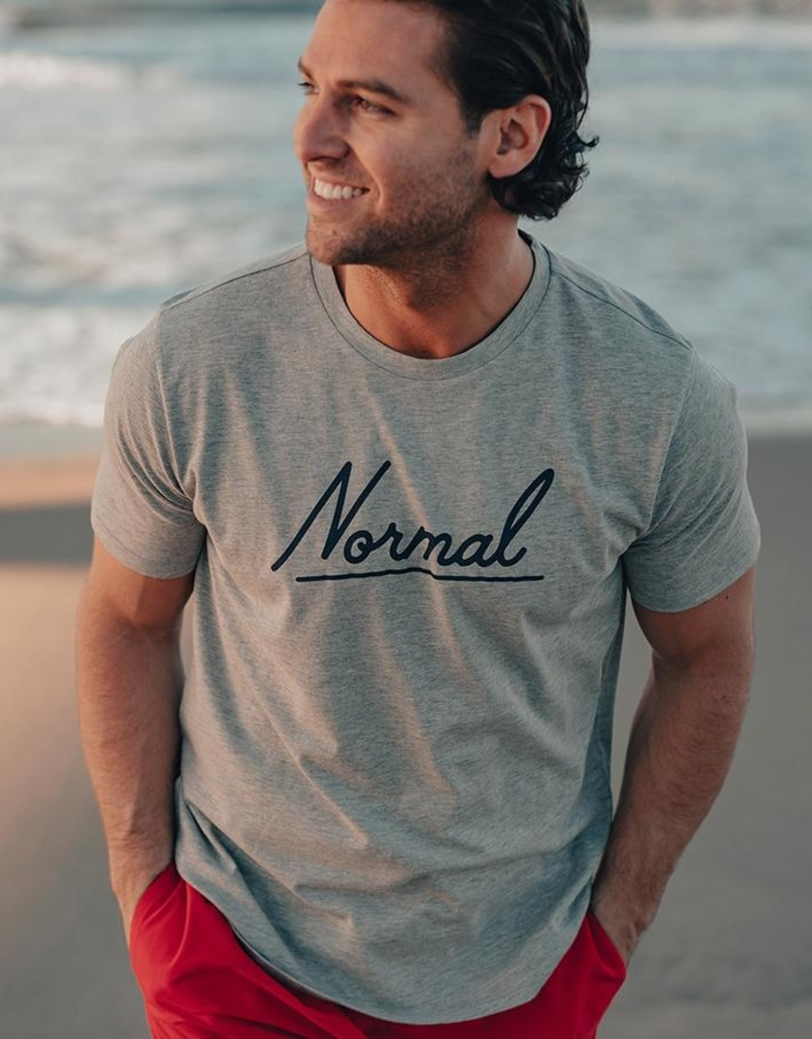 The Normal Brand SS Script T
