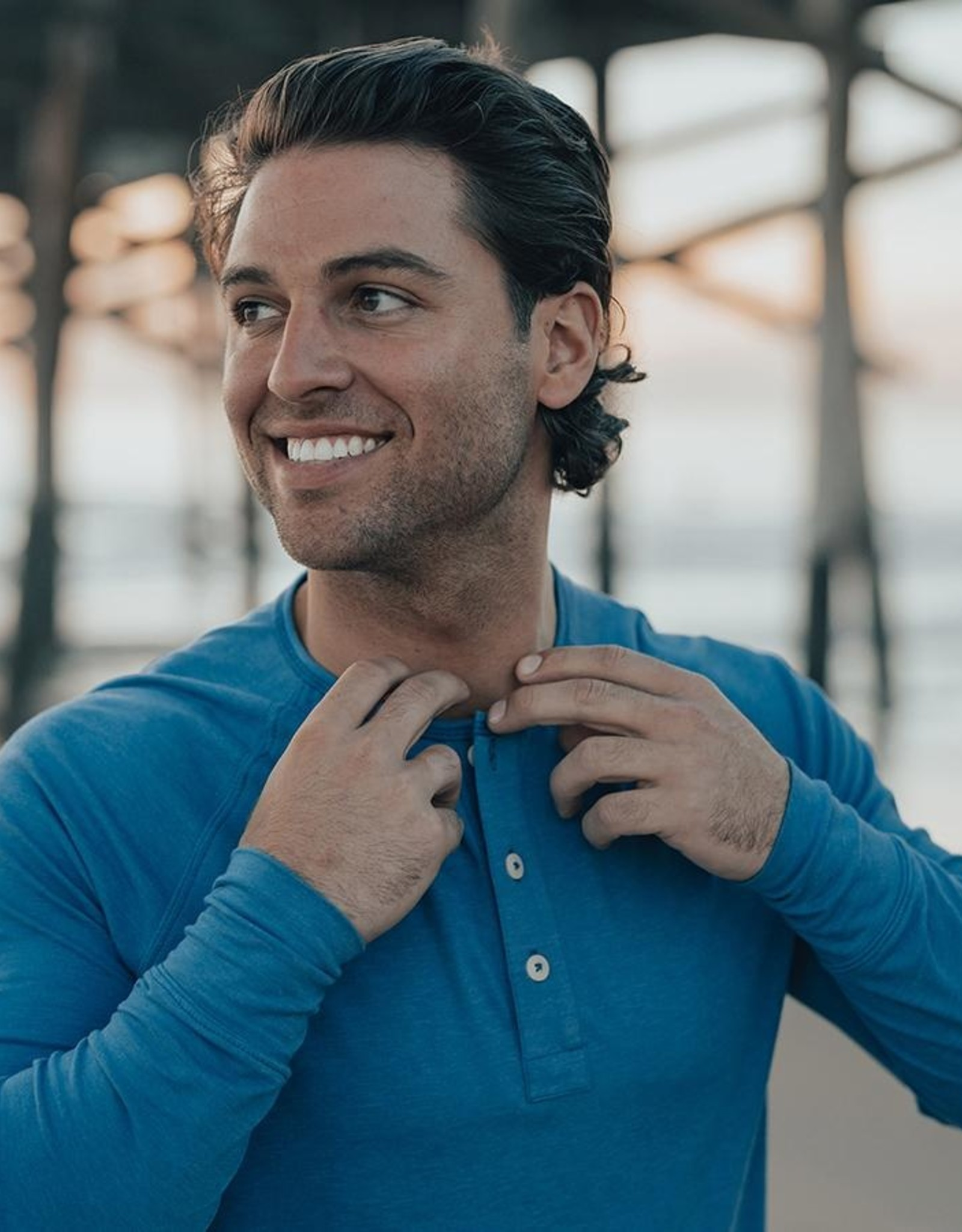 The Normal Brand LS Lightest Puremeso Henley