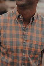 The Normal Brand Two Tone Check Button Down