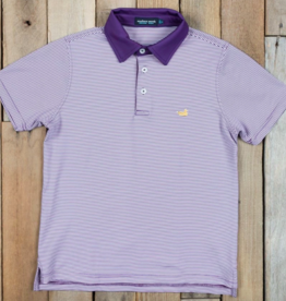 Southern Marsh Youth Bermuda Perf. Polo