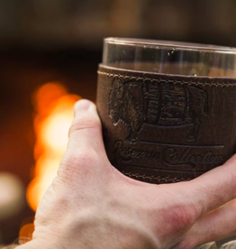 Over Under Bison Wrapped Bourbon Glass