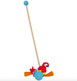 Sunny Life Macaw Push Along Toy