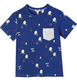 Art & Eden Graphic Pocket Shirt
