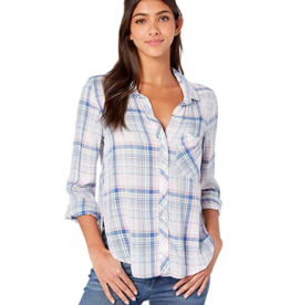 Bella Dahl Rounded Hem Button Down