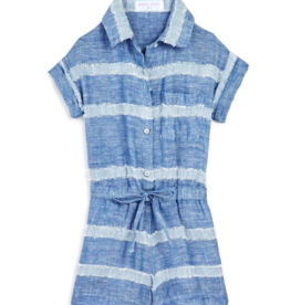 Bella Dahl Girls Camp Shirt Romper