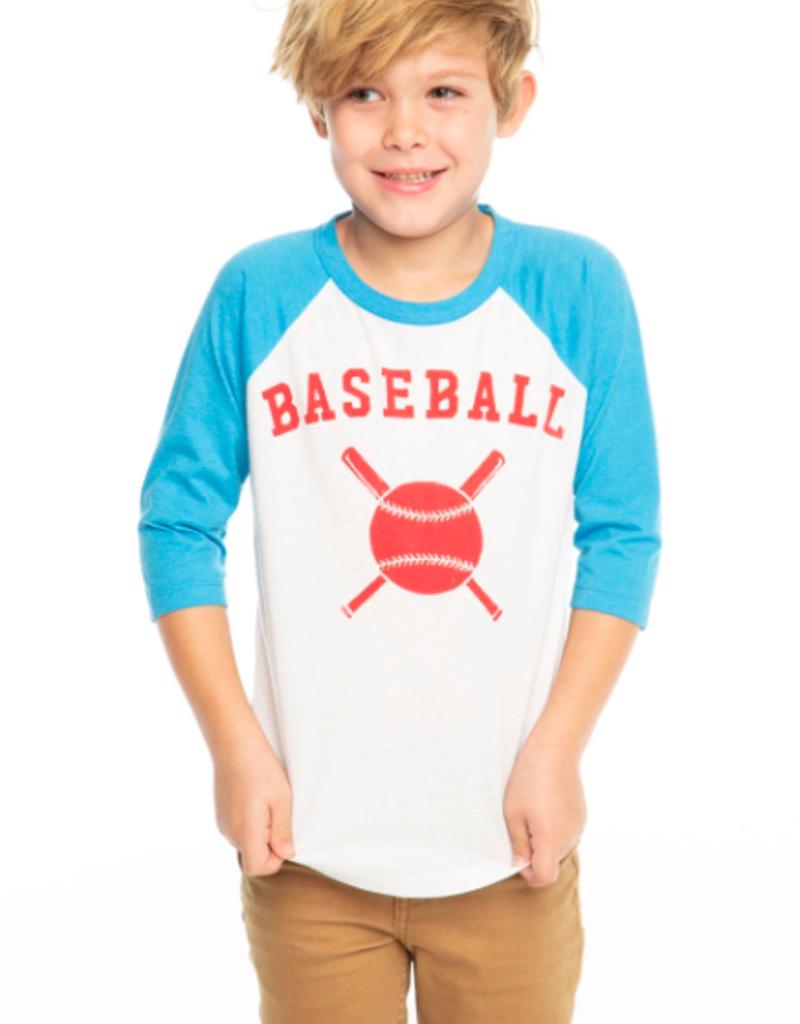 Chaser 3/4 Sleeve Raglan Baseball Tee