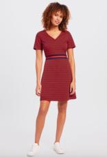 Draper James Stripe Ponte A-Line Dress