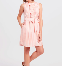 Draper James Ruffle Placket Dress